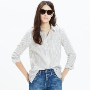 Madewell Ex-Boyfriend Shirt in Napa Stripe